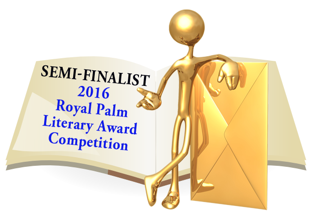 Notification badge for the Geezer's work being a semi-finalist.