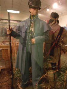 1835 soldier in uniform