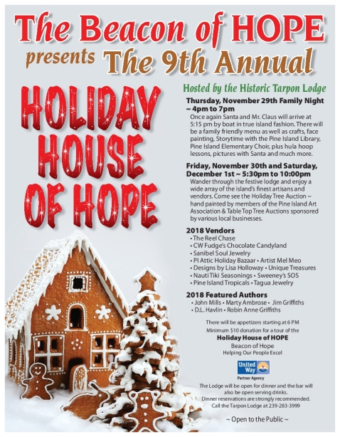 2018 Holiday House Flyer